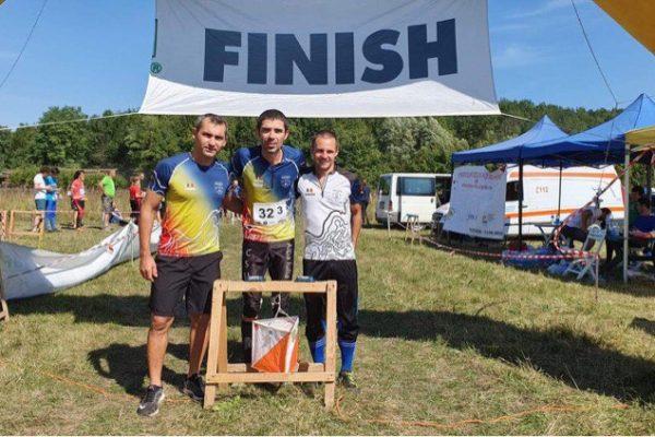 Ștafeta CS Unirea Alba Iulia, campioană națională pentru al treilea an consecutiv la orientare