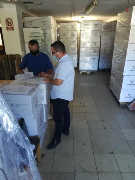 DSP Alba a început distribuirea măștilor de la Ministerul Sănătății pentru persoanele defavorizate din județ