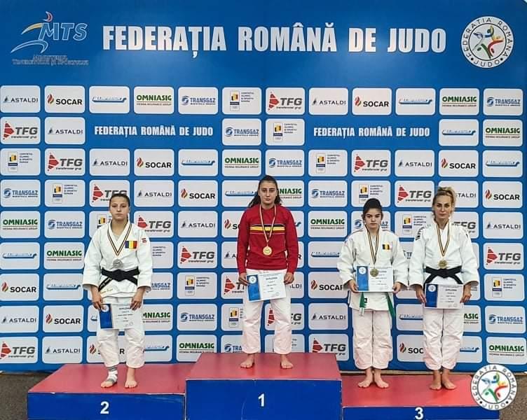 Sportivă a CS Unirea Alba Iulia a câștigat o medalie la campionatul național de judo