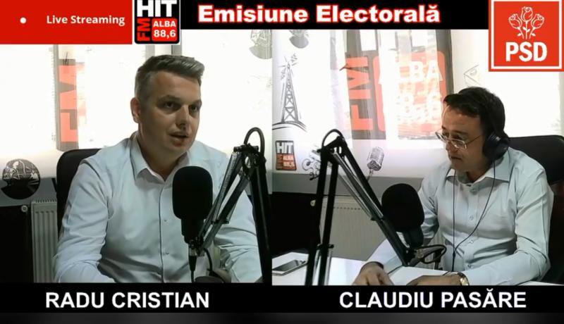 """Radu Cristian, candidatul PSD la primăria municipiului Sebeș:""""Vreau să fiu un primar pentru cetățeni!"""""""