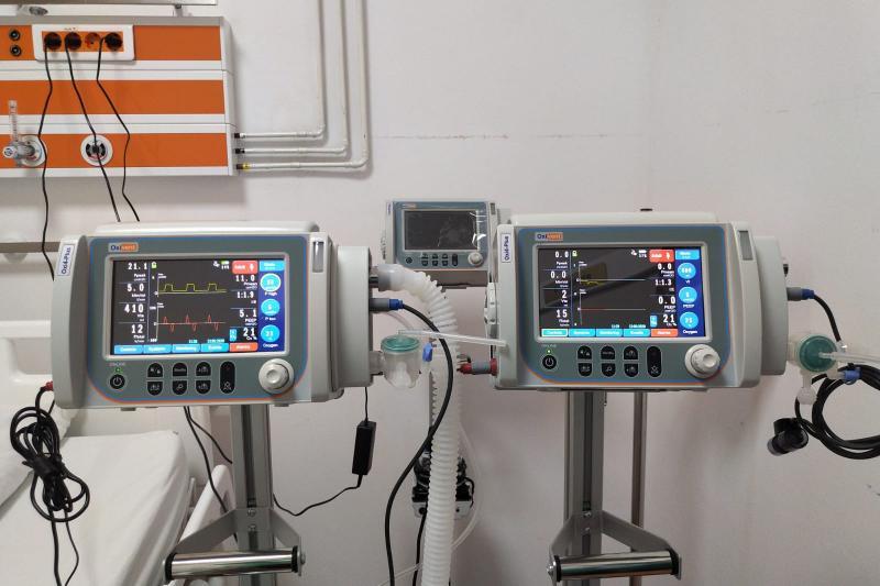 Spitalului Județean de Urgență Alba Iulia va primi 10 ventilatoare pulmonare mecanice