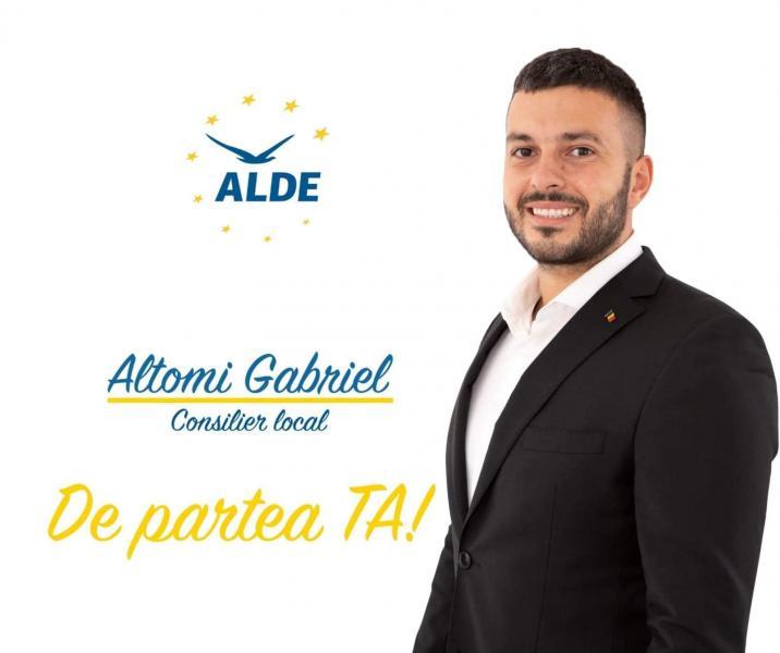 """Altomi Gabriel, ALDE Alba:""""Un CONSILIER LOCAL are obligații PRIMORDIAL față de cetățeni!"""""""