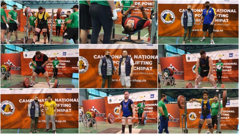 Sportivii CS Unirea Alba Iulia, 18 medalii la Campionatul Național de Powerlifting