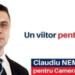 Claudiu Nemeș:''6 Decembrie, ziua resetării României, sub marca Alianței USR-PLUS!''