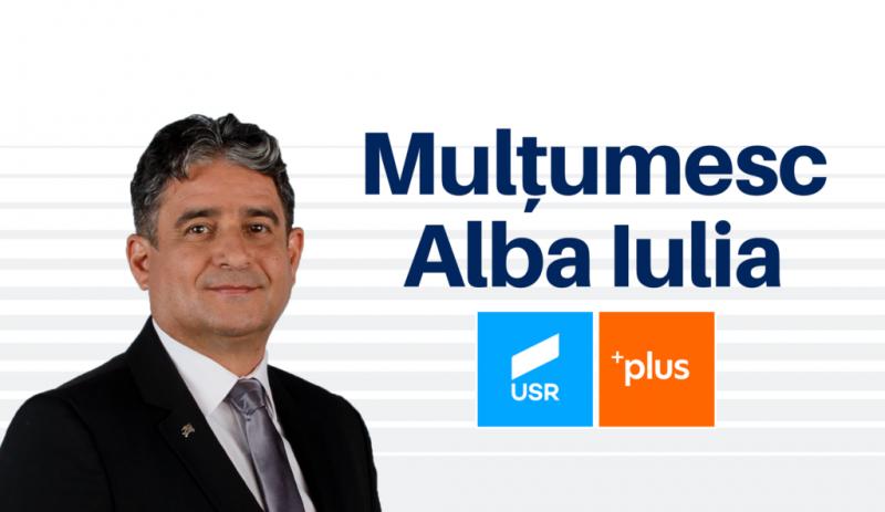 """USR – PLUS:""""Albaiulienii hotărăsc majoritatea în Consiliul Local"""" – prima consultare cetățenească din România pentru o decizie politică"""