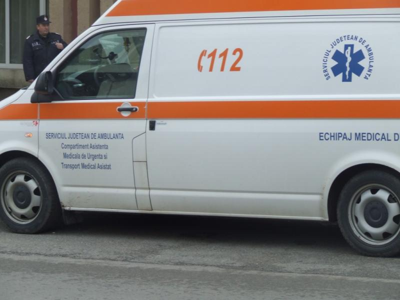 Accident! Minor acroșat de un autoturism pe strada Nicolae Bălcescu din Alba Iulia!