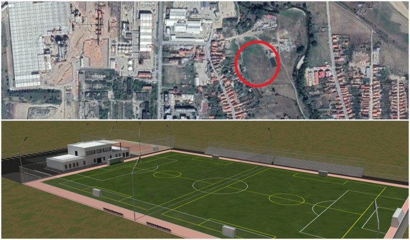 Proiect de construire a unei baze sportive TIP 1 la Pielarul Sebeș