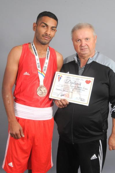Medalie de bronz la Campionatul Național de Box U22 pentru un pugilist legitimat la Clubul Sportiv Unirea Alba Iulia