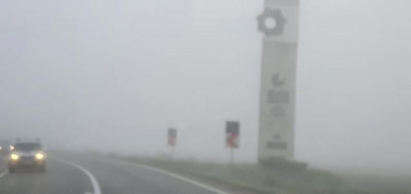 ANM: Avertizare COD GALBEN de ceață pentru mai multe localități din județul Alba!