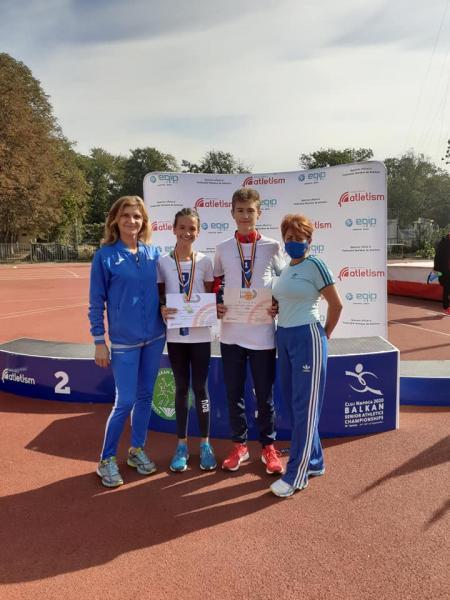 Bianca Vâlc şi George Cozma campioni naţionali la atletism