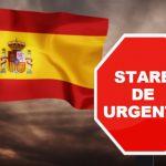 Spania intenționează să declare stare de urgență până în 2021!