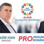 Ioan Lazăr:''Salvăm România fără a concedia românii!''