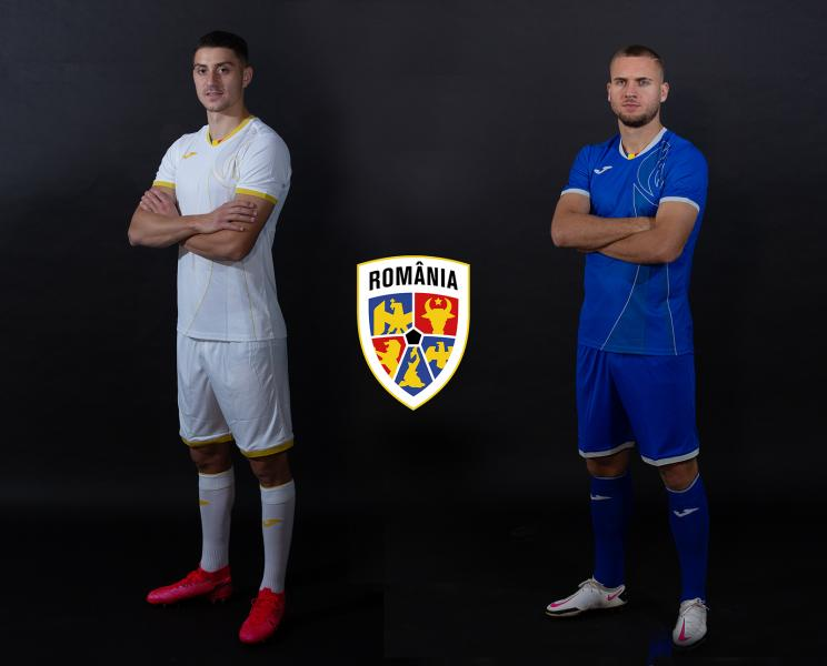 Naționala de fotbal a României va purta la Jocurile Olimpice un echipament special creat împreună cu suporterii