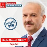 Radu Marcel Tuhuț:''Votați pentru a scăpa de umilință, pentru sănătate, pentru educație, pentru VIAȚĂ! Duminică, 6 decembrie, votați PSD!''