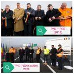 USR PLUS: PNL și-a demonstrat ipocrizia politică: A inaugurat o autostradă neterminată, care trece prin Alba Iulia, fără să-l invite pe primar