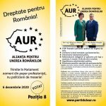 Alianța pentru Unirea Românilor vrea ''Dreptate pentru România!''
