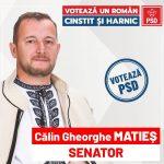 Călin Matieș: Pe 6 decembrie votăm PSD pentru salvarea PRODUCĂTORILOR ROMÂNI