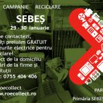Sebeș - Campanie de informare și colectare deșeuri de echipamente electrice și electronice