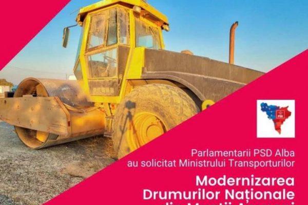 Partidul Social Democrat Alba continuă eforturile pentru modernizarea drumurilor din Munții Apuseni!