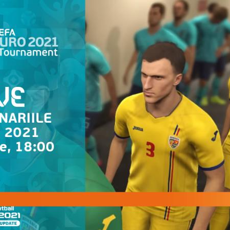 Naționala de e-fotbal a României joacă în preliminariile e-EURO 2021!