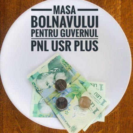 """Călin Matieș:""""Parlamentarii PNL și USR-PLUS au refuzat să asigure o hrană decentă românilor care ajung în spitale: 3 lei/masă pentru un pacient în spital?!"""""""