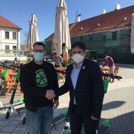 Peste 200 de trotinete electrice vor împânzi mun. Alba Iulia!