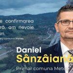 """Daniel Sânzâiană:""""Comuna Meteş poate şi trebuie să meargă pe drumul care a fost deschis în anul 2016!"""" (P)"""