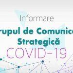 Date actualizate prezentate de Grupul de Comunicare Strategică