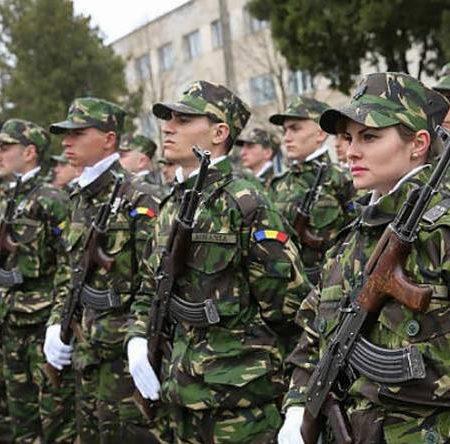 Atenție! Se fac înscrieri pentru rezervişti voluntari în Armata României!