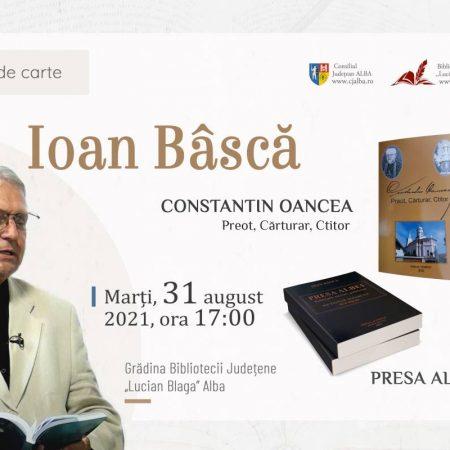 """Dublă lansare de carte la Biblioteca Județeană """"Lucian Blaga"""" Alba"""