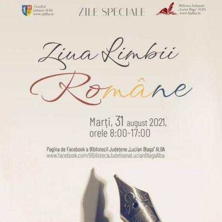Ziua Limbii Române sărbătorită și la Alba Iulia