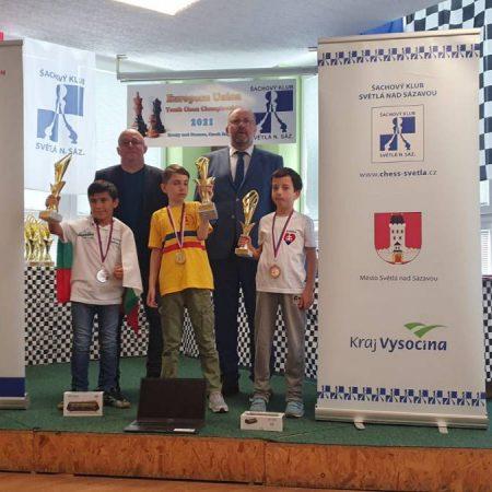 Andrei Negrean campion al Uniunii Europene la şah la categoria copii sub 10 ani