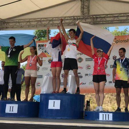 Tamas Bogya, sportiv al CS Unirea Alba Iulia, a obținut singura medalie a României la Campionatele Mondiale de Orientare Masters