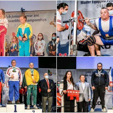 Sportivii CS Unirea Alba Iulia – 10 medalii de argint și 1 de bronz la Campionatul Mondial de Powerlifting