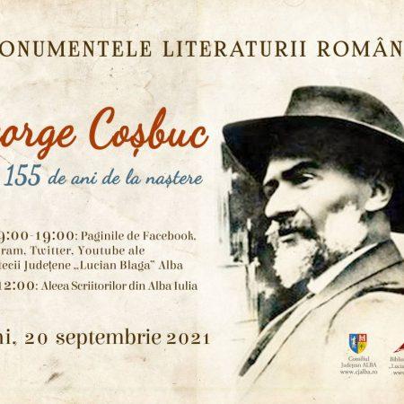 George Coșbuc, omagiat la 155 de ani de la naștere