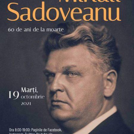 """Mihail Sadoveanu comemorat de Biblioteca Județeană """"Lucian Blaga"""" Alba, la 60 de ani de la moartea sa"""